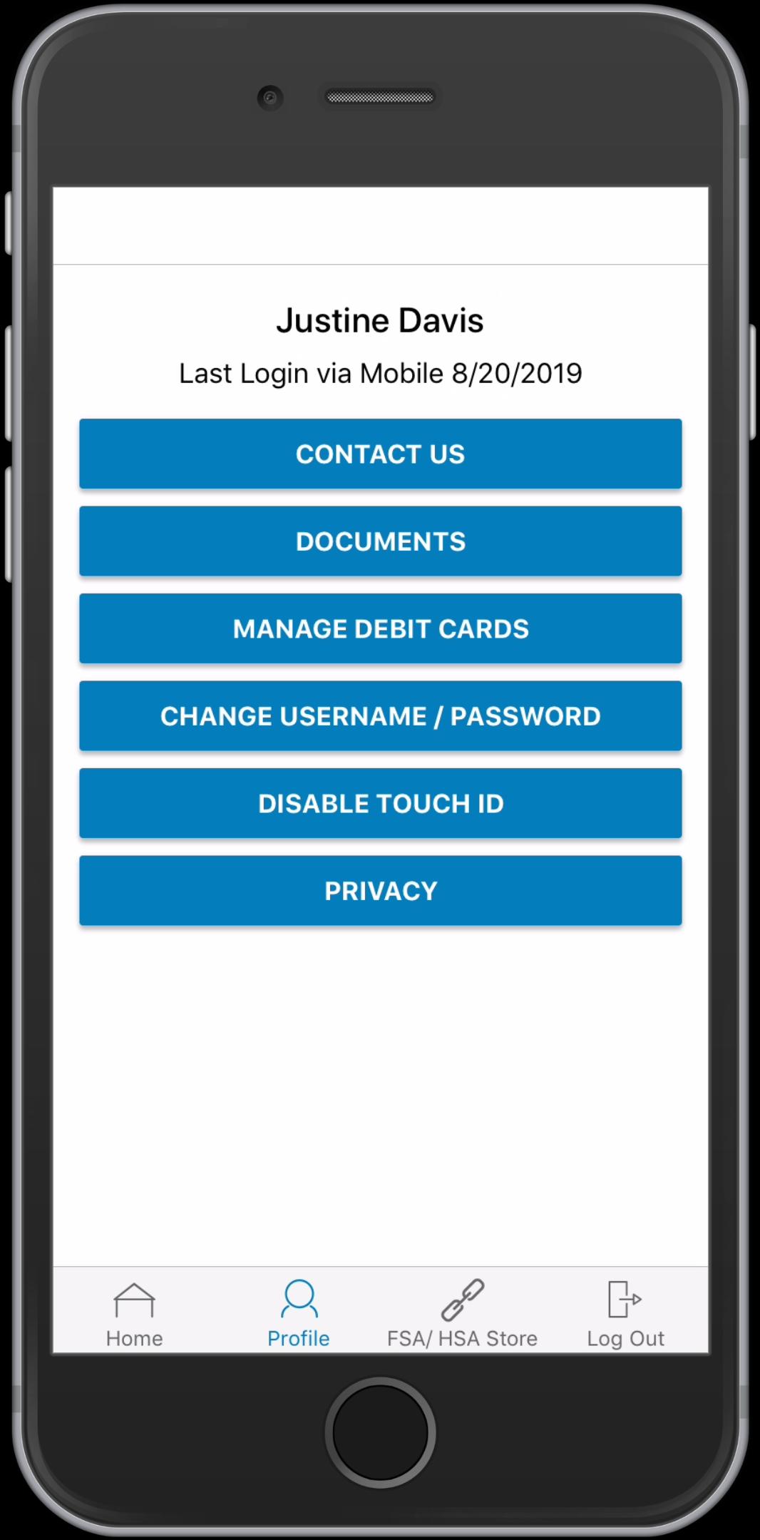 WEX Health Cloud Mobile App_User Profile (2)