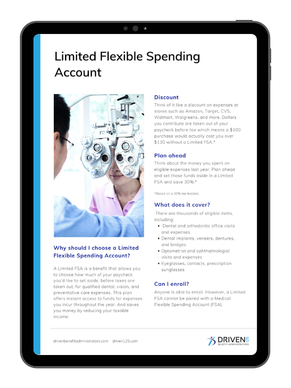 Limited Flexible Spending Account